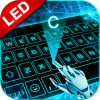 Tech 3D LED Live Keyboard Theme
