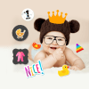 My Baby Milestone Photo Maker
