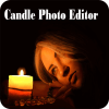 Candle Photo Editor: Candle Photo Frame