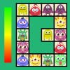 Connect: cute monsters and food. Free casual game