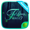 Deep Forest GO Keyboard Animated Theme