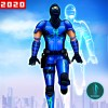 Invisible Ninja Rope Hero Game:City Rescue Mission