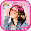 Heart Crown Photo Stickers Camera