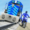 Bike vs. Train – Top Speed Train Race Challenge