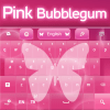 Pink Bubblegum GO Keyboard