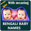 Bengali Baby Names and Meanings in Bengali(40k+)