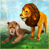Angry Lion Family Simulator: Animal Adventure Game