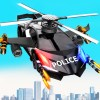 Flying Car Police Helicopter Car Robot Games