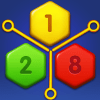 Merge Number Puzzle - 2048 Block Hexa