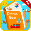 Kids Picture Dictionary Book - First Words Games