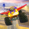 Offroad Flying Monster Truck Driving