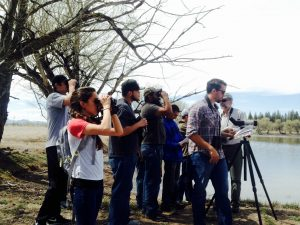 Our first SLV bird walk