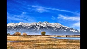 One of the many beautiful views of Mt. Blanca from the Blanca Wetlands