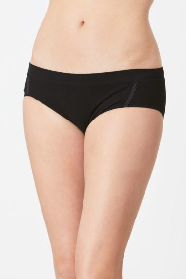Hipster Bamboo Briefs - Black