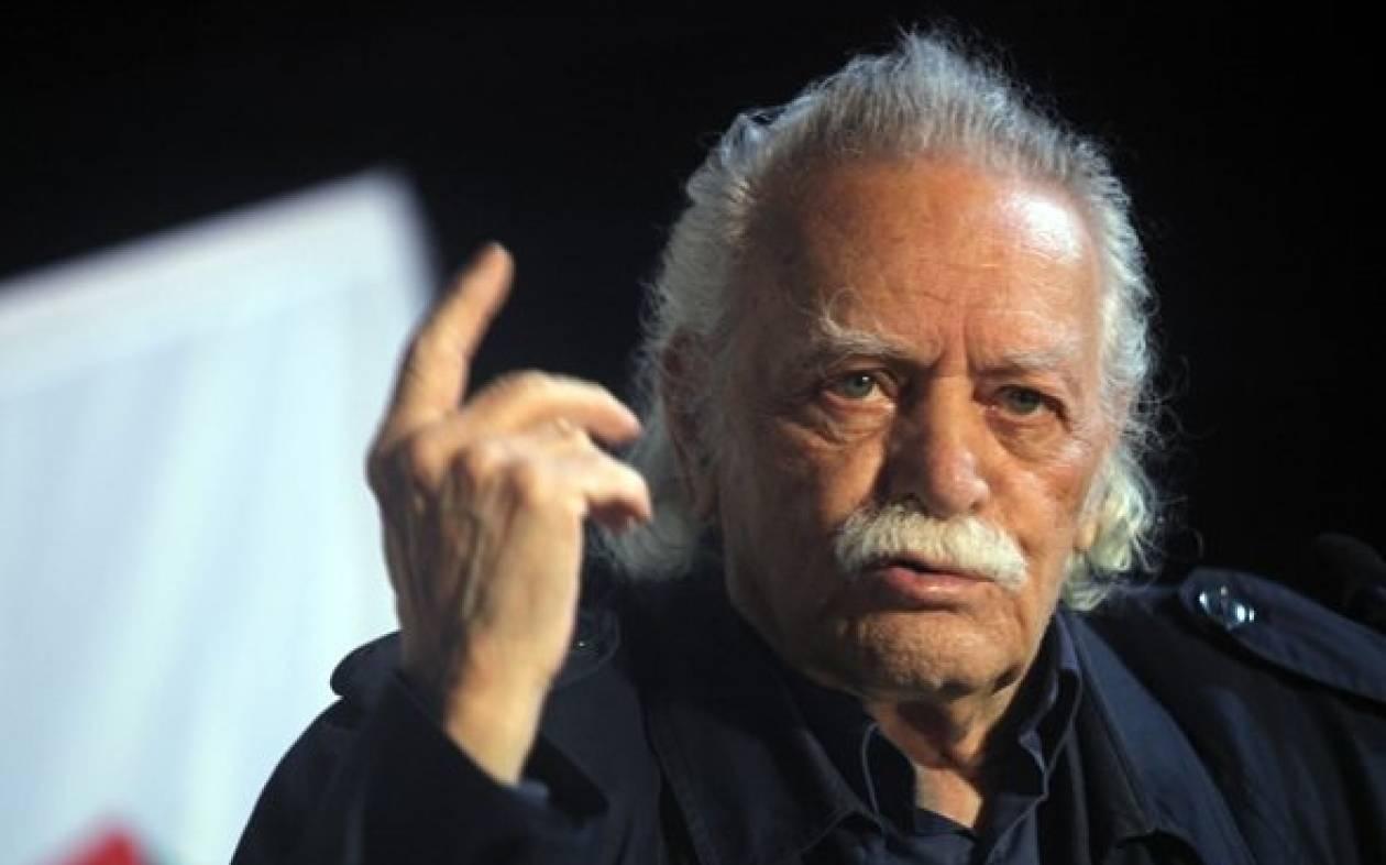 Γλέζος: «Ό,τι δεν κατάφερε η Γερμανία με τα όπλα, το κατάφερε με το ευρώ»
