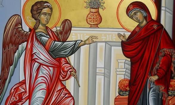 Αποτέλεσμα εικόνας για 25 η μαρτιου ευαγγελισμος