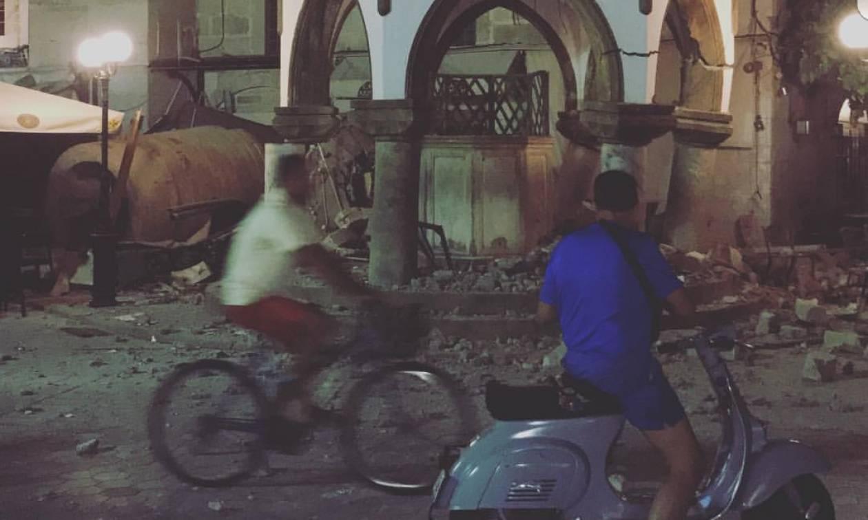 Ισχυρός σεισμός 6,7 Ρίχτερ συγκλόνισε τα Δωδεκάνησα - Τουλάχιστον δύο νεκροί (Vid+Pics)