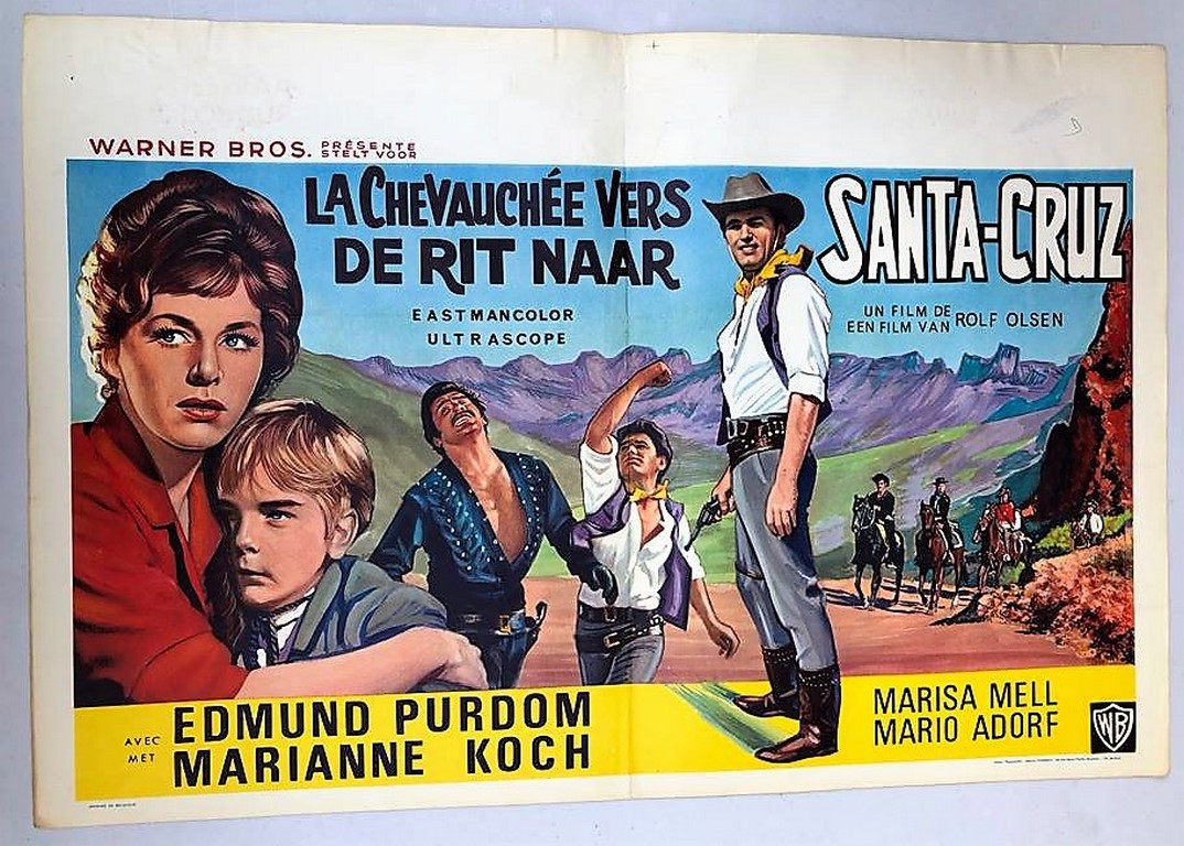 last ride to santa cruz belgian movie poster store