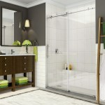 Sdr984 Coraline Coraline Xl Frameless Sliding Alcove Shower Door With Starcast Coating
