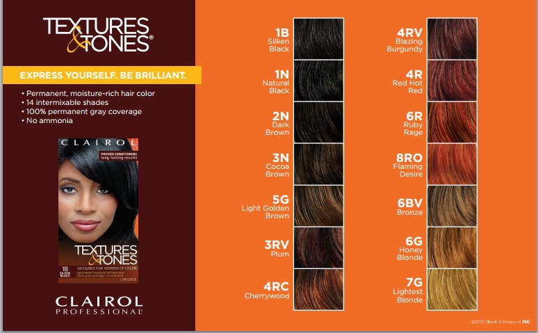 Clairol Professional Permanent Hair Color Textures And