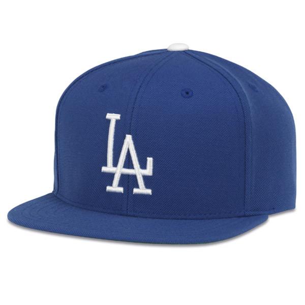 American Needle LA Dodgers Distressed Cotton Baseball