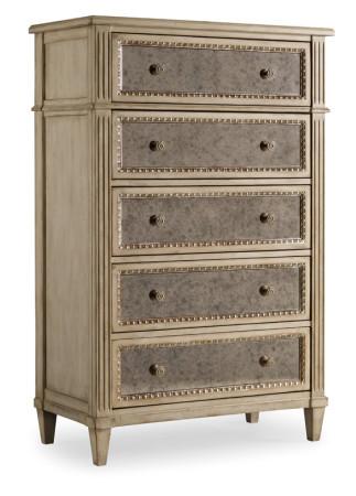 antique mirrored dresser 4 drawer