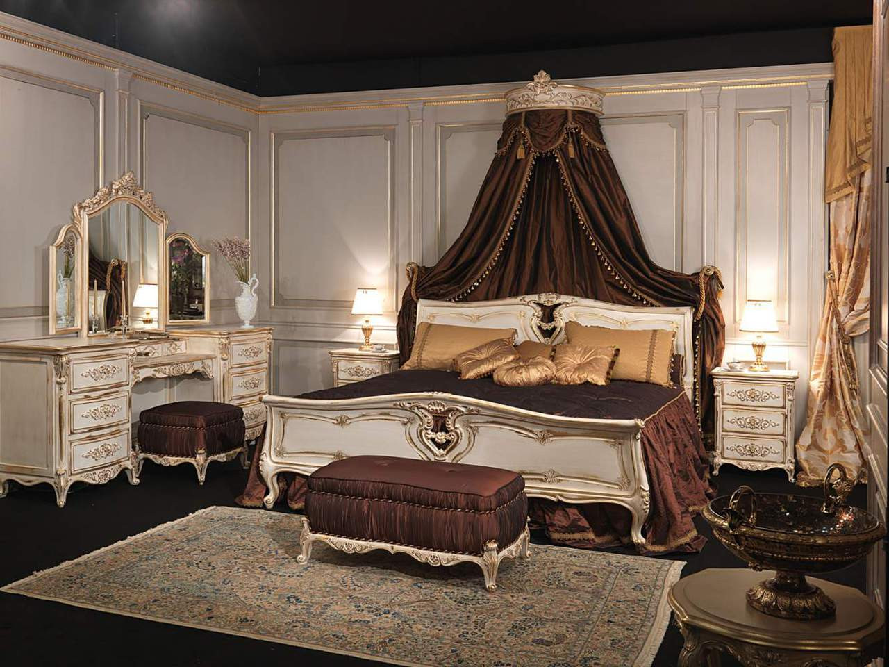 Louis Xvi Bed Set French Bedroom Furniture Designer Bed