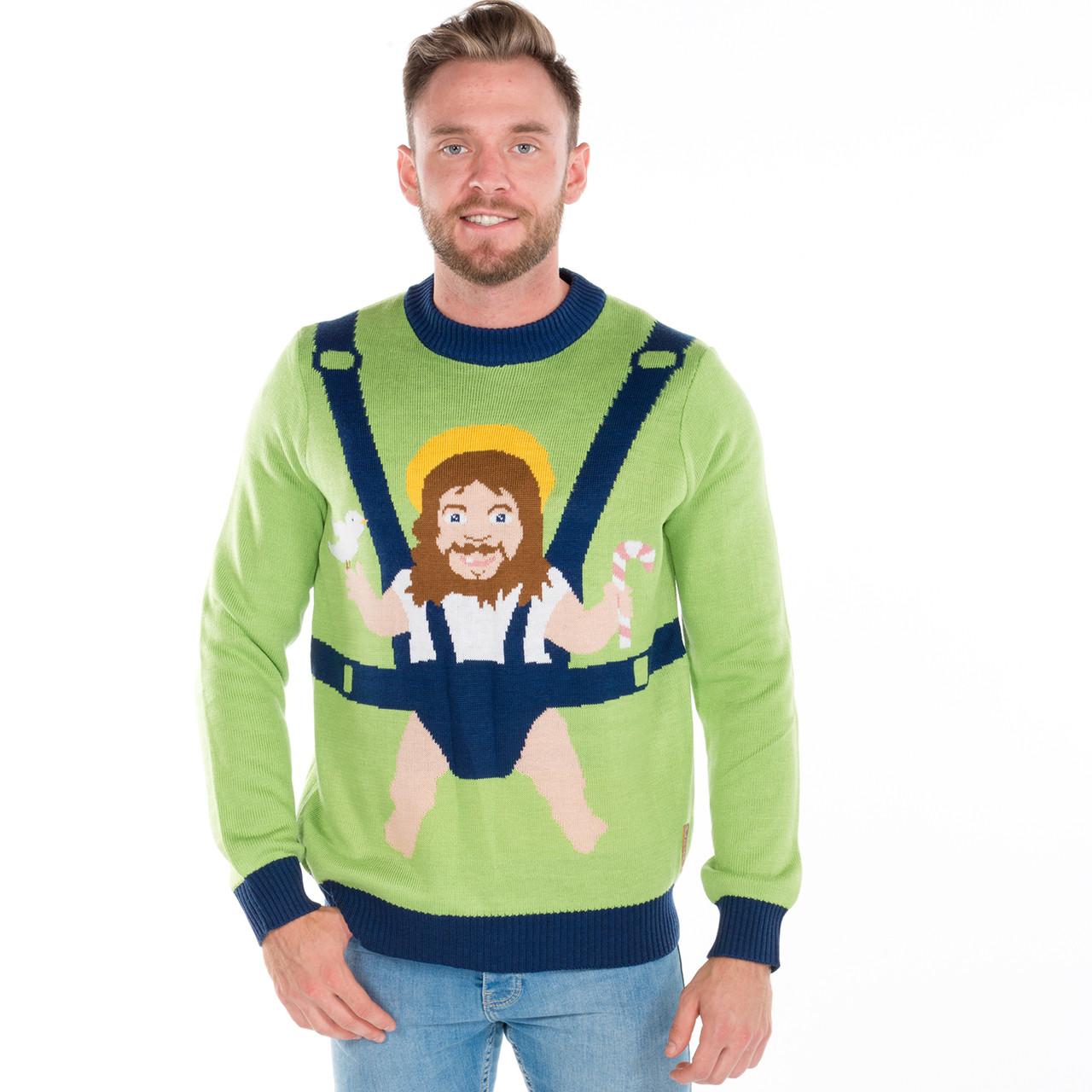 Christmas Sweater Jesus Birthday Boy
