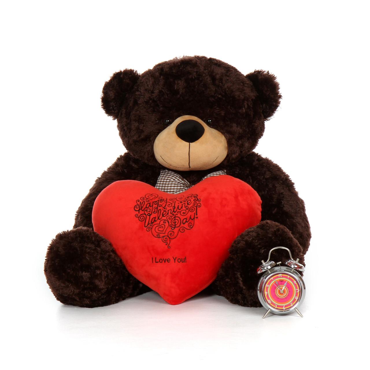 3 Foot Happy Valentines Day I Love You Teddy Bear Plush