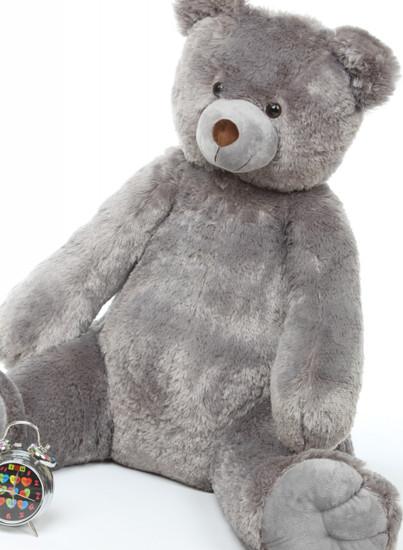 Sugar Tubs Cuddly Grey Big Plush Teddy Bear 32in
