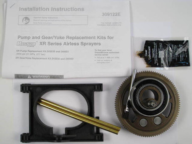 Graco 245062 or 245062 Yoke Assembly for Magnum series OEM  Painthose