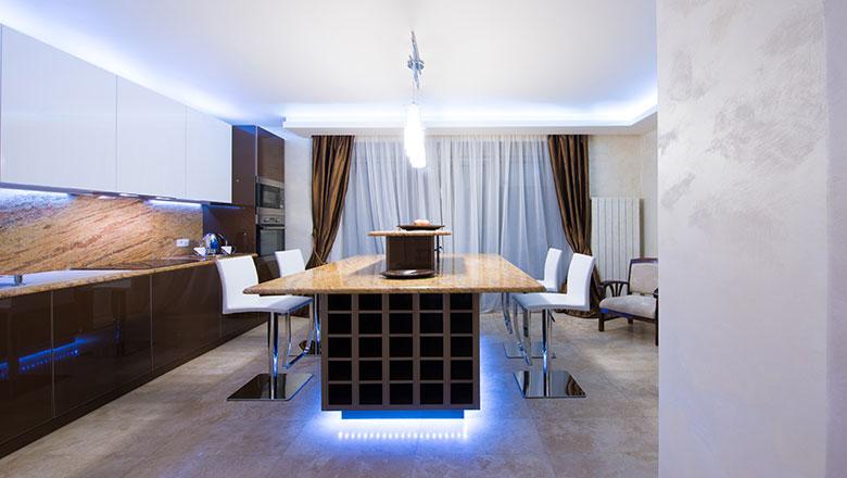 kitchen toe kick lighting