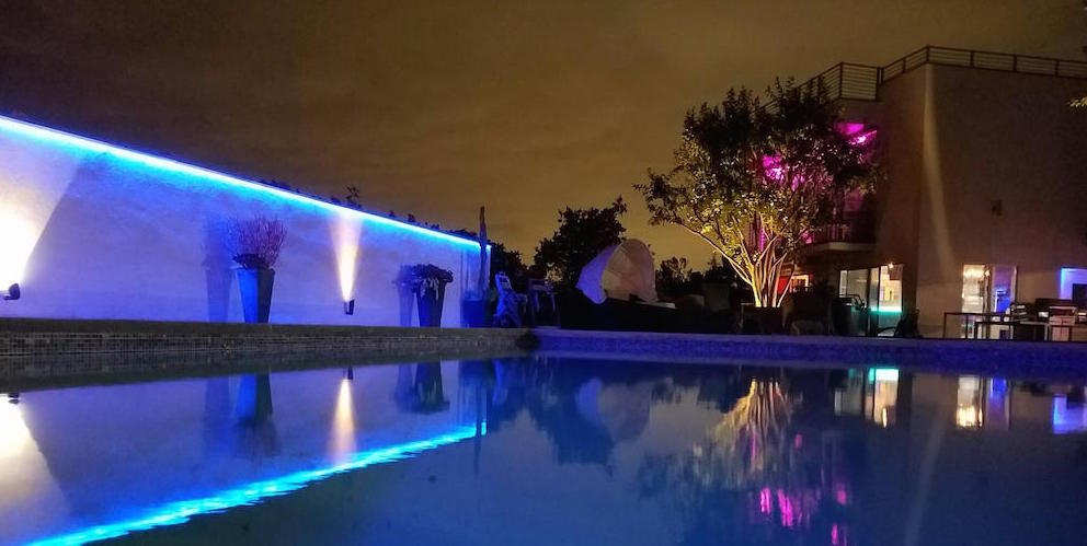 outdoor ip65 colorbright rgb 300 color changing led strip light