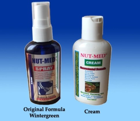 Image result for nutmeg spray and cream
