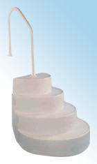 Classic Pools Wedding Cake Step Entry System Cake Steps  Wedding Cake Step