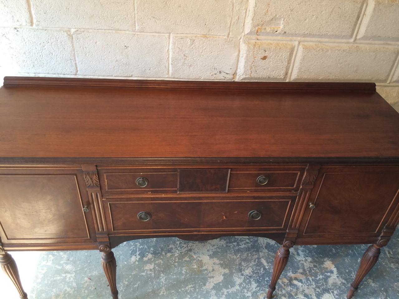 Antique Mahogany Dining Room Sideboard Buffet Forgotten Furniture