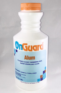 Alum Aluminum Sulfate in 5lb container for clear swimming pool water
