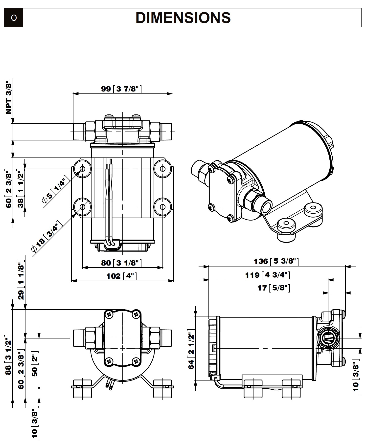 4 Gpm Gear Pump 24v Forsel Fuel Or Water Transfer