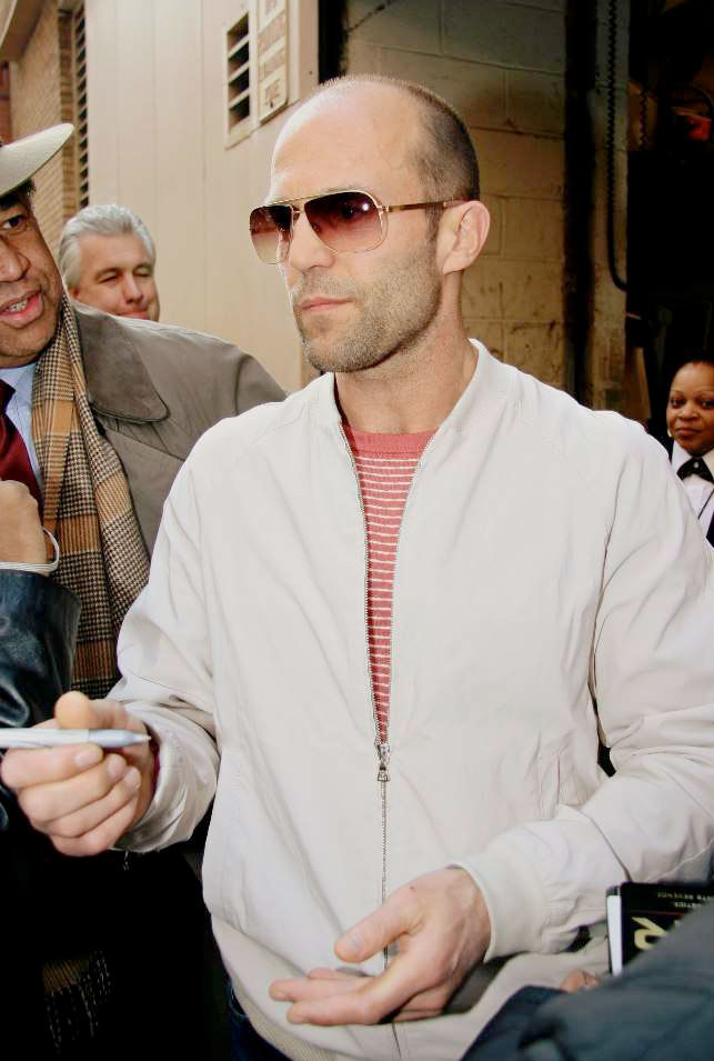Jason Statham Wearing MYKITA ROLF Sunglasses