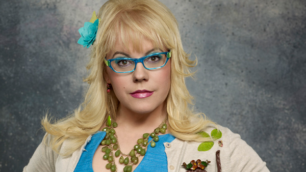 Kristen Vangsness Wearing Kirk Originals Martha In