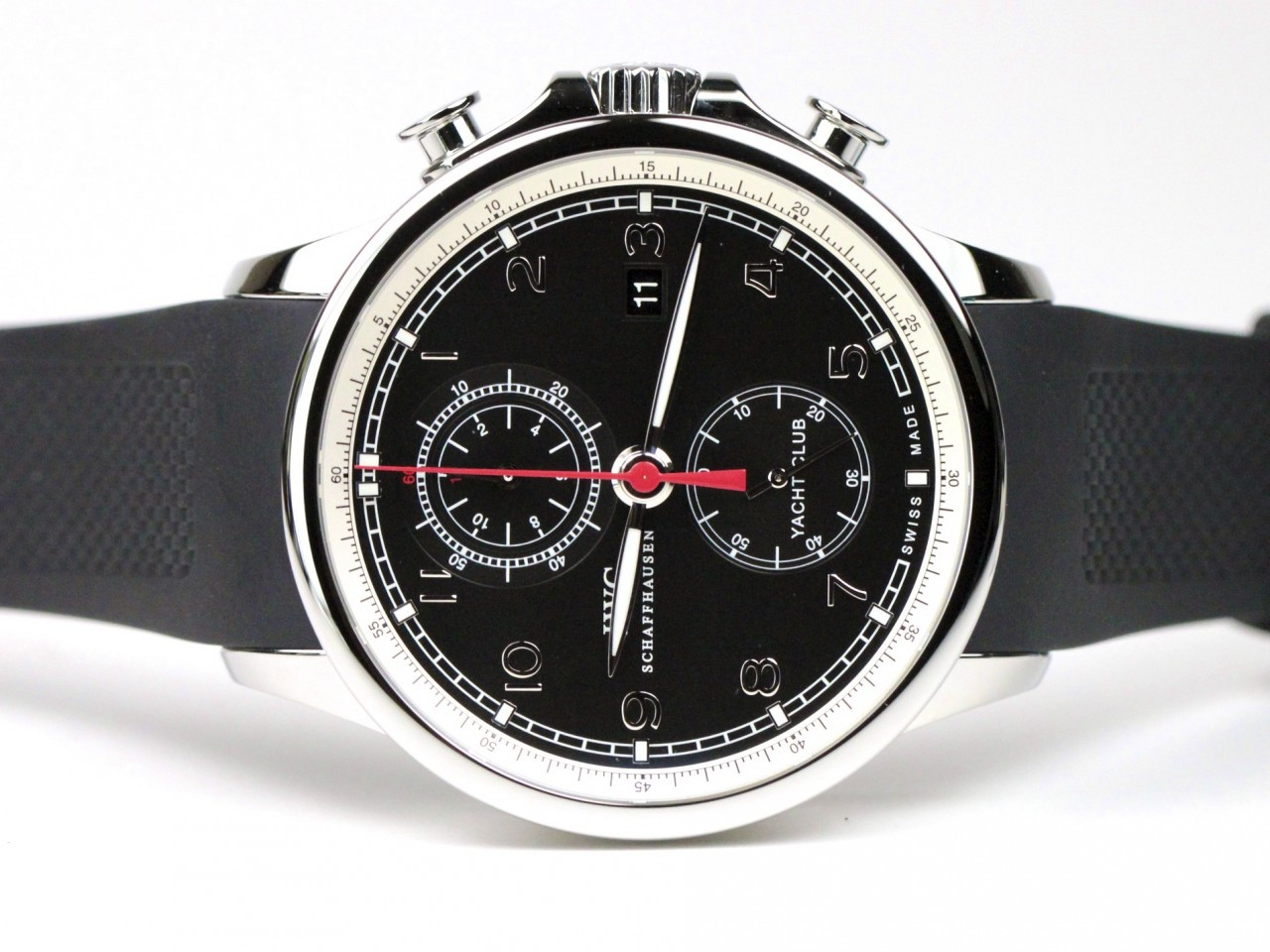 IWC Portuguese Yacht Club Chronograph Watch Swiss Automatic Ref IW390204 Www