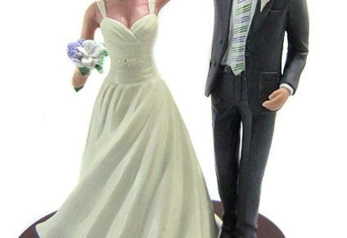 Custom Ballroom Dancing Wedding Cake Topper