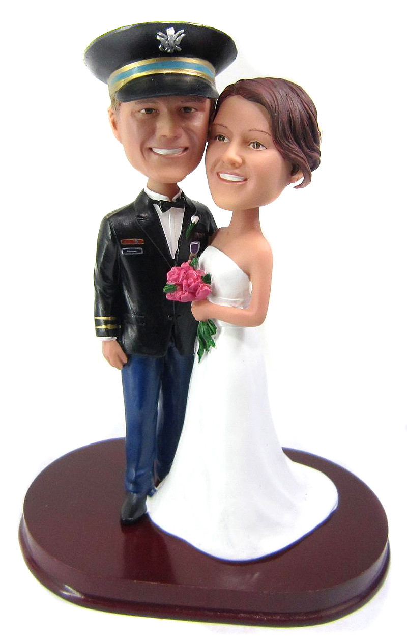 Wedding Cake Toppers Bobbleheads Wedding Cake Toppers