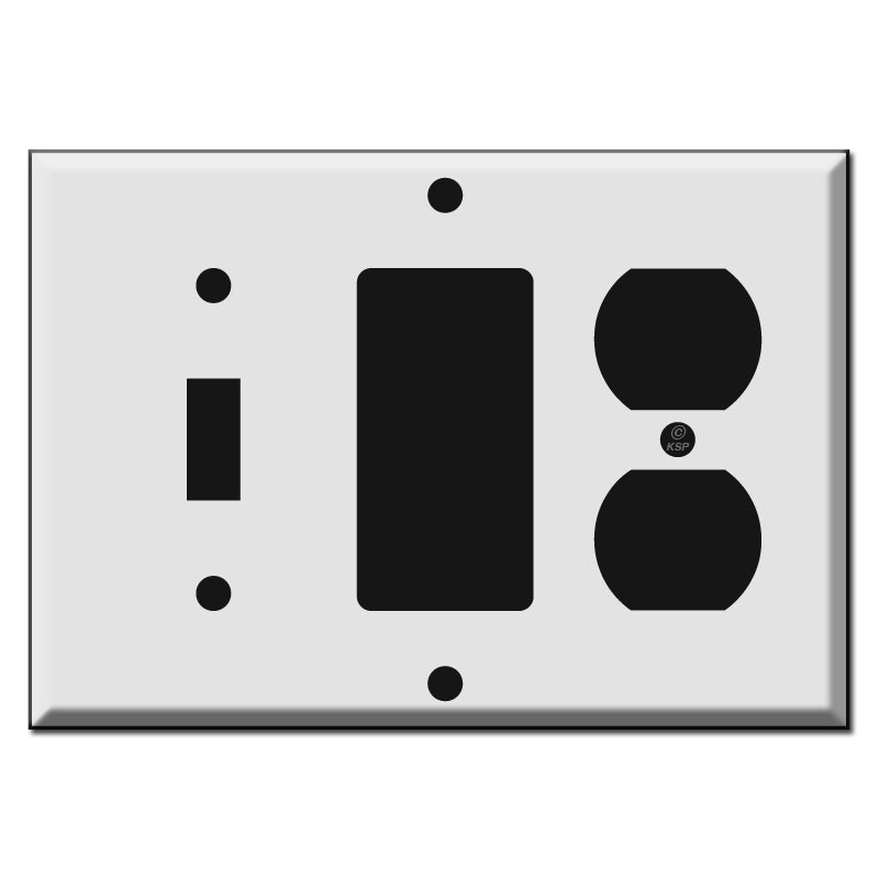 switchplates color style kyle switchplate duplex outlet toggle and decora rocker combo
