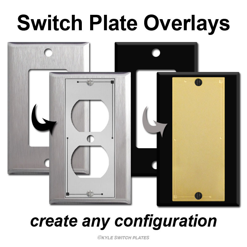 How to Create a Specialty Switch Plate Using Fillers, Inserts and ...