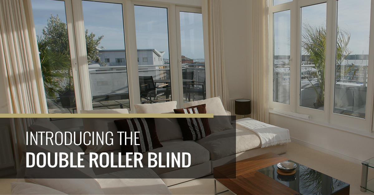Introducing The Double Roller Blind Quickfit Blinds And Curtains