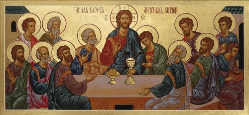 Mystical Supper Large Icon Ancient Faith Store