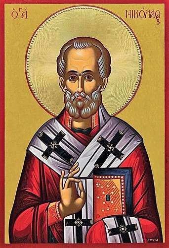 Saint Nicholas Of Myra Large Icon Ancient Faith Store