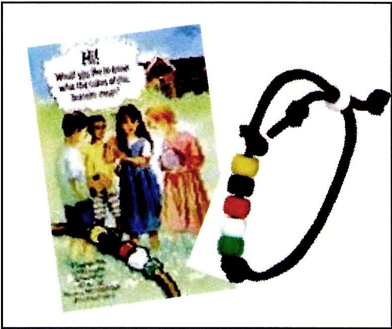 Wordless Book Bracelet Kit And Tract Child Evangelism Fellowship Store