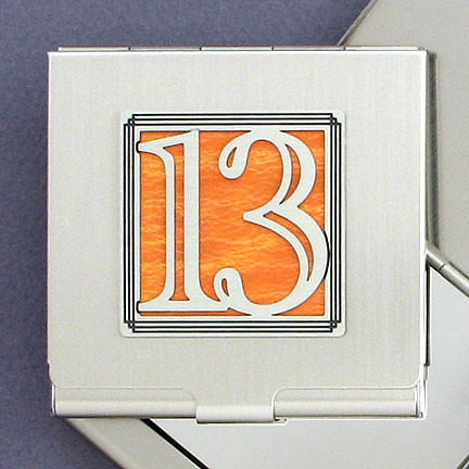 Number 13 Compact Mirror